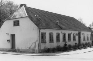 Rytterskolen, opført 1721