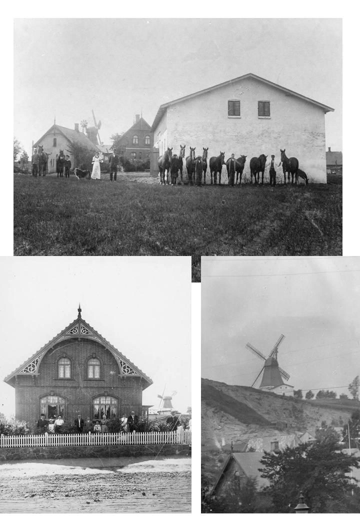no. 50a Hauchsvej-Møllen på fotos.